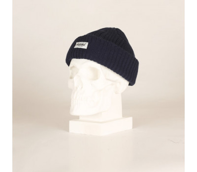 Зимняя шапка Dislabel Fisherman Mini Navy