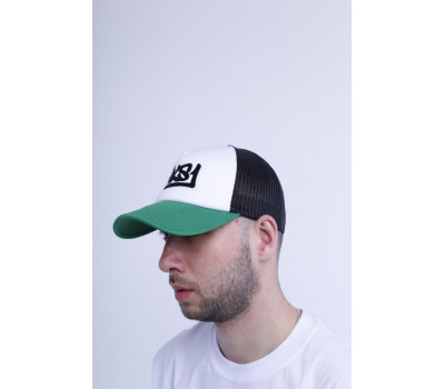 Бейсболка MKS1 Trucker Green\Black