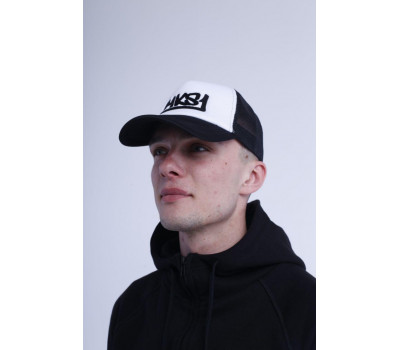 Бейсболка MKS1 Trucker Black\White